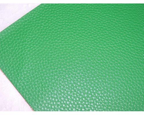 Кожзам зернистый  матовый, цв. зеленый