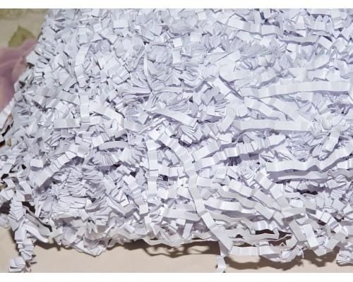 Соломка бумажная 100г., бледно-василькового цвета