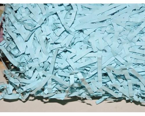 Соломка бумажная 100г., серо-голубого цвета