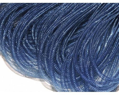 Регилин трубчатый 0,4 см, цв. джинс ( 1 м)