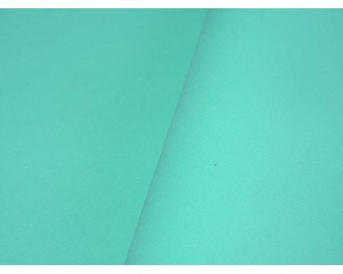 Фоамиран китайский 1 мм, бирюзового  цвета (25*25)