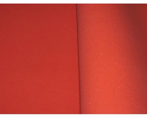 Фоамиран китайский 1 мм,  алого цвета (25*25)