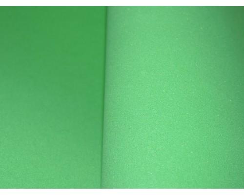 Фоамиран китайский 1 мм, зеленого 3 цвета (25*25)