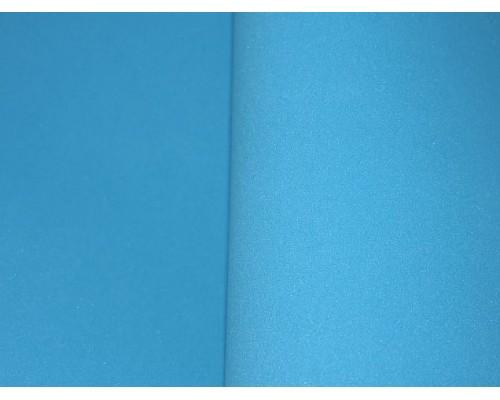 Фоамиран китайский 1 мм, лазурного цвета (25*25)