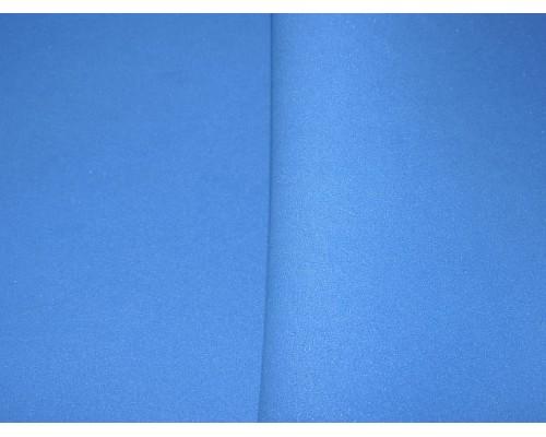 Фоамиран китайский 1 мм, синего цвета (25*25)