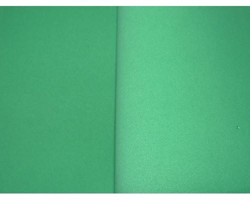 Фоамиран китайский 1 мм, зеленого 2 цвета (25*25)