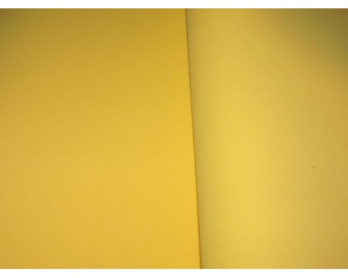 Фоамиран китайский 1 мм, насыщенно-желтого цвета (25*25)