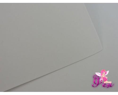 Фоамиран  толщина 2мм, цв. белый № 49