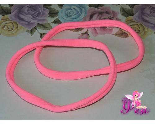 """Резинка-повязка """"One size"""", диаметр 10,5см, окружность 33 см. цв. розовый  -1 шт."""
