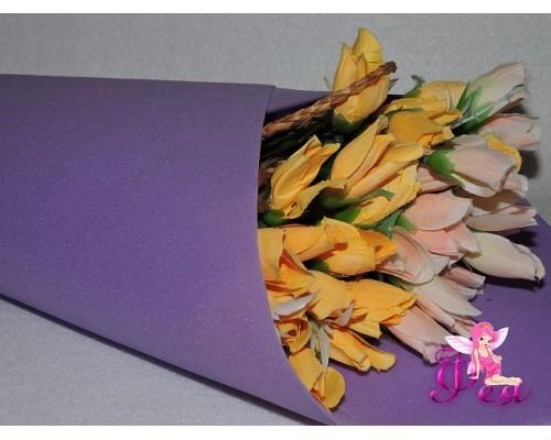 Фоамиран зефирный 1 мм,цв. фиолетовый