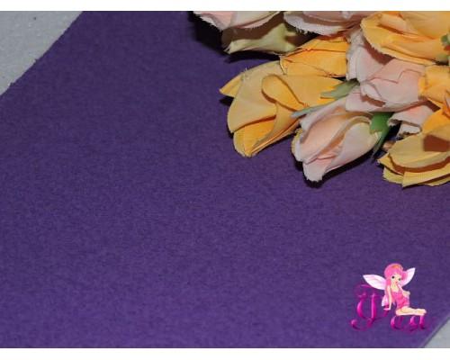 Фоамиран EVA махровый 2мм (20*30см), цв. фиолетовый