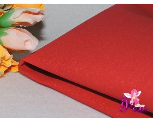 Фоамиран 1 мм, иранский ( 60 см*70 см; 30 см*70 см), цв светло-красный