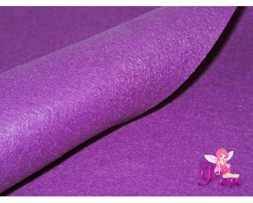 Фетр мягкий 20*30 см толщина 1 мм, цв. фиолетовый № 007 - 1 лист