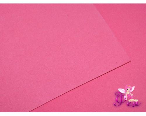 Фоамиран  толщина 2мм, цв. малиновый  № 05