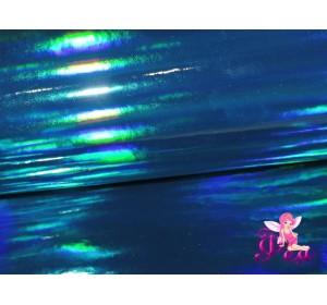 """Кожзам """"Хамелеон"""" 0.7 мм, цв.  морская волна"""