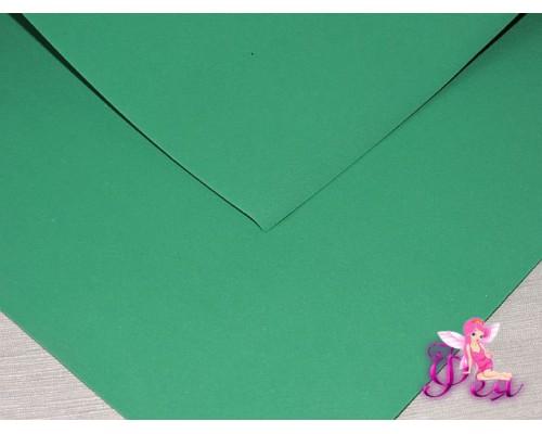 Фоамиран (Корея) 1 мм, цв.  темно-зеленый  (25*25)