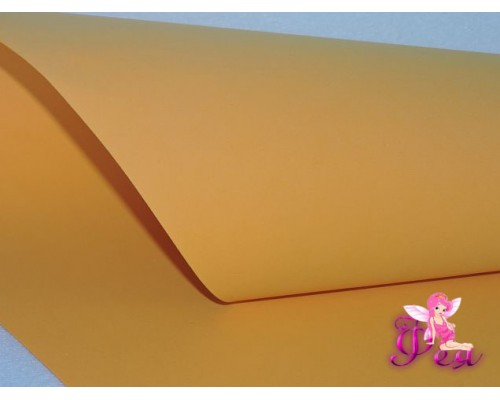Фоамиран 1 мм,  (Premium), оранжевый