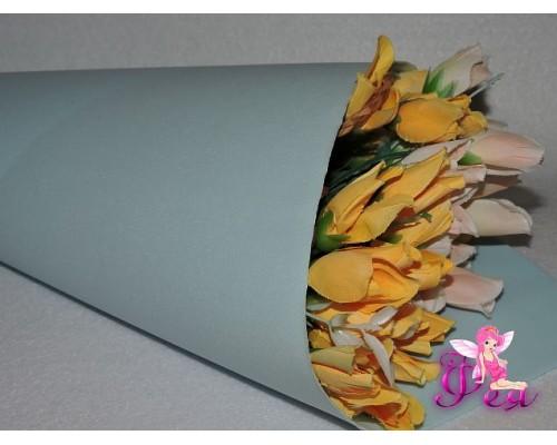 Фоамиран зефирный 1 мм, цв. светло-голубой