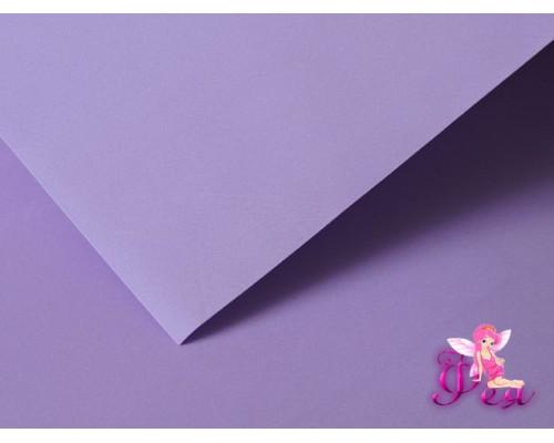 Шелковый фоамиран 1мм, цв. светло-фиолетовый №51