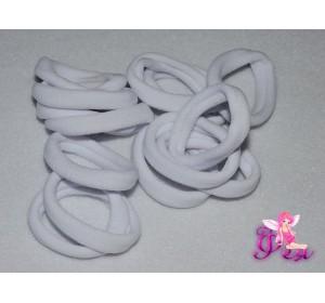 Бесшовные резинки 4 см, белые - 1шт.