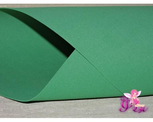 Фоамиран китайский 1 мм, зеленого цвета