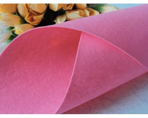 Фетр жесткий цв.пурпурно-розовый 1мм (лист 41см * 49см)