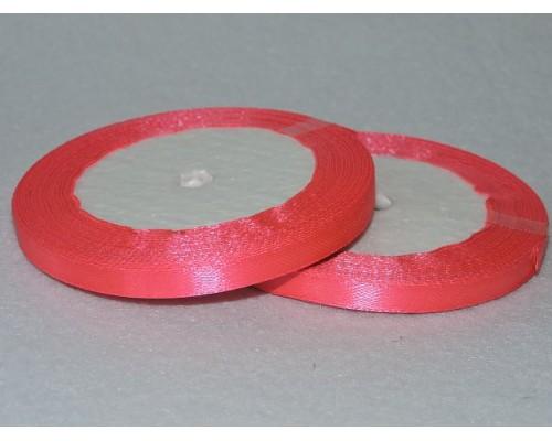 Атласная лента 6 мм, ярко-розовый № 14 (23М)