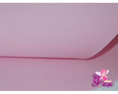 Шелковый фоамиран, толщина 1 мм, цв. светло-розовый