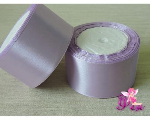 Атласная лента 50 мм, цв. фиолетовый № 44