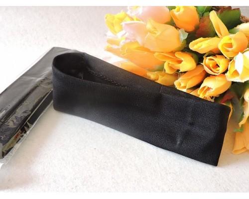 Повязки-основа (ткань) 4*17см, цв. черный