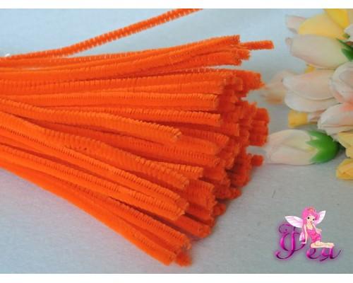 Проволока синельная, цв. оранжевый 1 шт