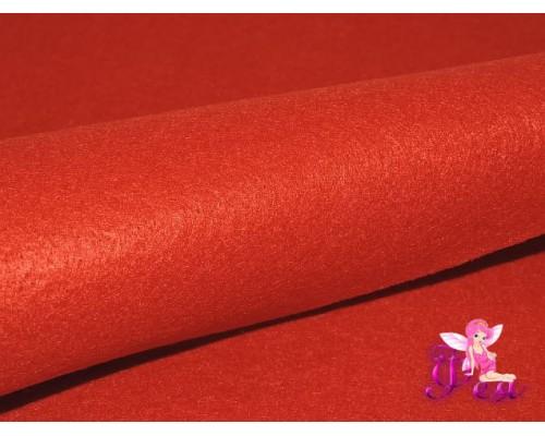 Фетр мягкий 20*30 см толщина 1 мм, цв. красный № 082 - 1 лист