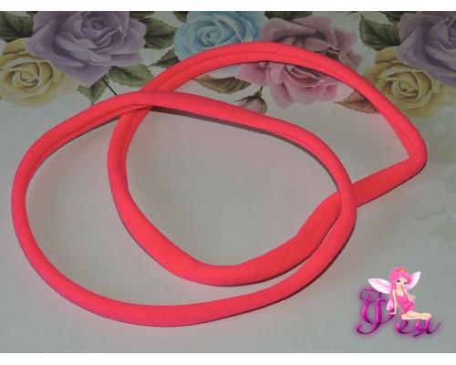 """Резинка-повязка """"One size"""", диаметр 10,5см, окружность 33 см. цв. темно-розовый  -1 шт."""