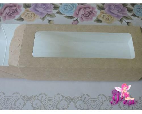 Крафт-каробка (17*7*4 см) -1 шт