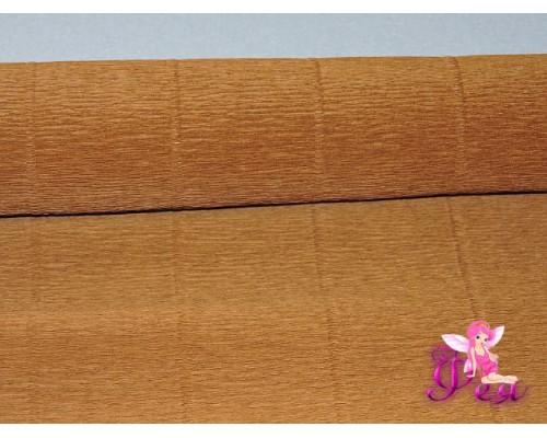 Бумага гофре Cartotecnica Rossi, № 567 светло-коричневый,180 г