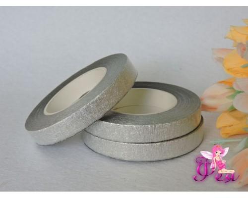 Тейп-лента, цв. серебро