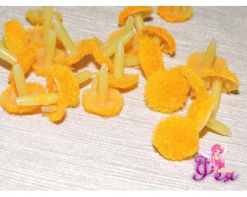 Серединки для цветов, d-1.3 см, цв. желтый (1 шт)