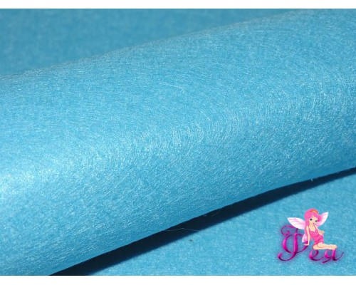 Фетр мягкий 20*30 см толщина 1 мм, цв. голубой № 090 - 1лист