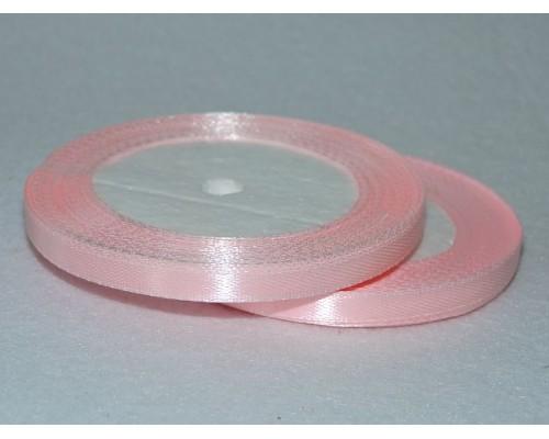 Атласная лента 6 мм, светло-розовый № 43 (23М)