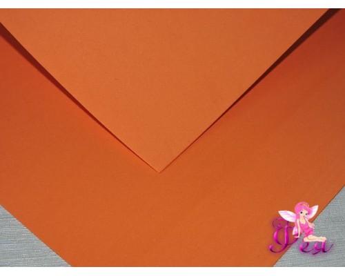 Фоамиран китайский 1 мм, оранжевого цвета