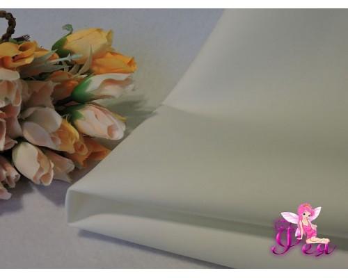 Фоамиран 1 мм, иранский ( 60 см*70 см; 30 см*70 см), цв. белый