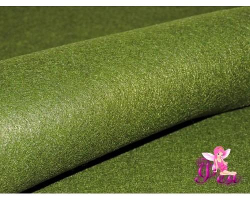 Фетр мягкий 20*30 см толщина 1 мм, цв. фисташковый № 017 - 1 лист