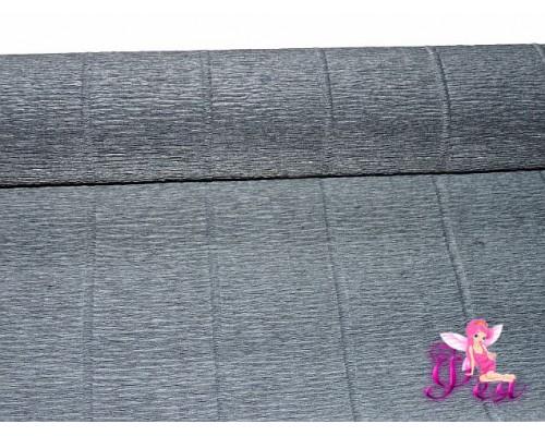 Бумага гофре Cartotecnica Rossi, №602 черный, 180г