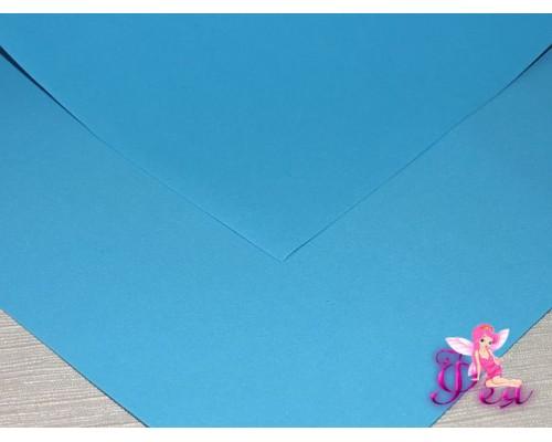 Фоамиран (Корея) 1 мм, цв.  темно-бирюзовый  (25*25)