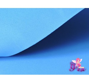 Фоамиран толщина 2мм, цв. синий № 23