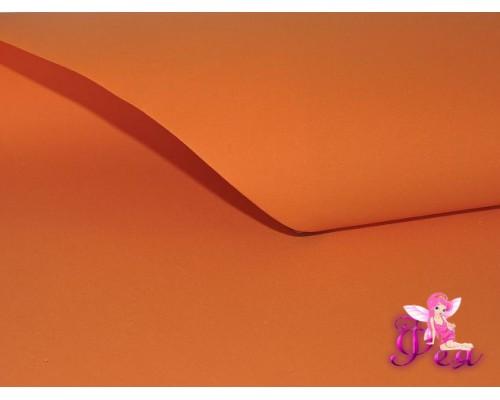 Фоамиран 1 мм,  (Premium), ярко-оранжевый