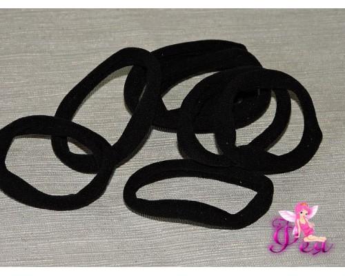 Резинки бесшовные 4см, цв. черный -1 шт