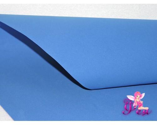 Фоамиран 1 мм,  (Premium), синий