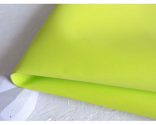 Фоамиран 1 мм, иранский, цв. желто-зеленый  № 119