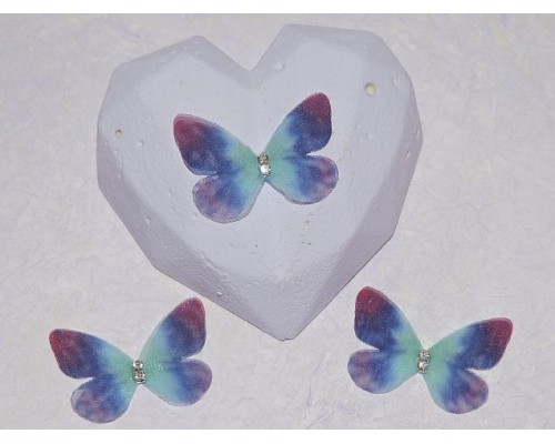 Бабочка шифоновая маленькая 3 см, №23 - 1 шт
